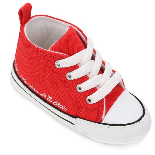 ae6951763bd Tênis Infantil Converse Chuck Taylor My First All Star - Vermelho ...