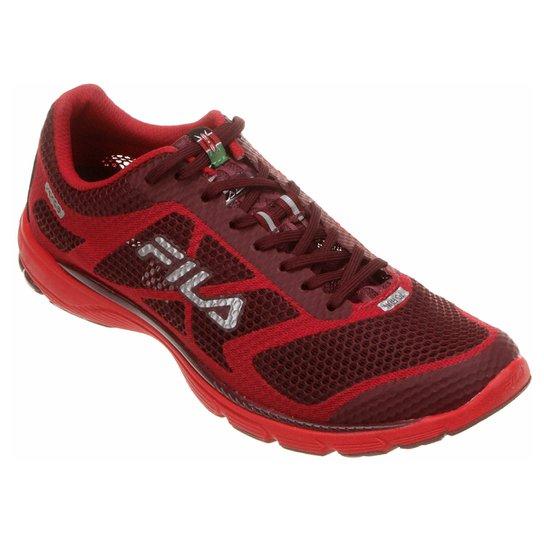 3ad4984cf6c Tênis Fila Kenya Racer 3 Masculino - Vermelho+Vinho