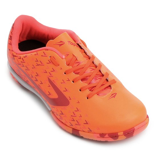 Chuteira Futsal Topper Extreme - Vermelho - Compre Agora  9370e2cbc719f