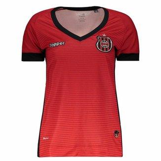 Camisa Topper Brasil de Pelotas I 2017 Feminina c33e3b00405cd
