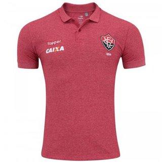 Camisa Topper Polo Viagem Vitória Masculina cc946549e5d9f