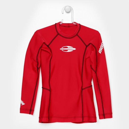 Camisa Mormaii Gromm M L Infantil - Vermelho - Compre Agora   Netshoes 52d9aafc4d
