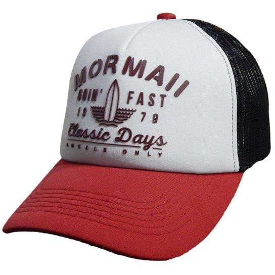 Boné Mormaii Trucker Classic Days - Compre Agora  8ebd7fccaab