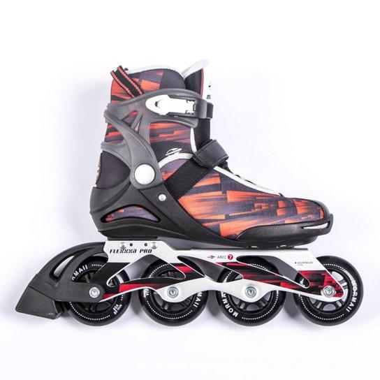 Patins Roller Profissional Abec7 Mormaii - Vermelho - Compre Agora ... 530fc66ab27