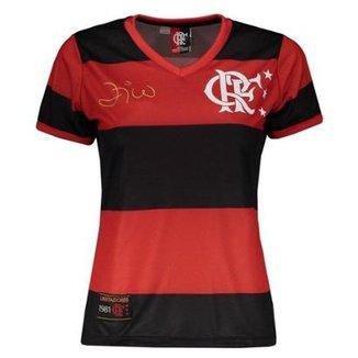 Compre Camisa Flamengo Feminina Online  99bde91447afa