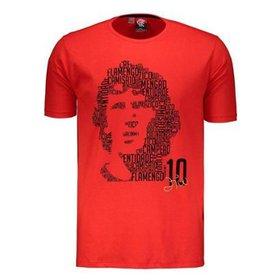 1f654c6880d3b Camiseta Flamengo Retrô - Zico Infantil - Compre Agora