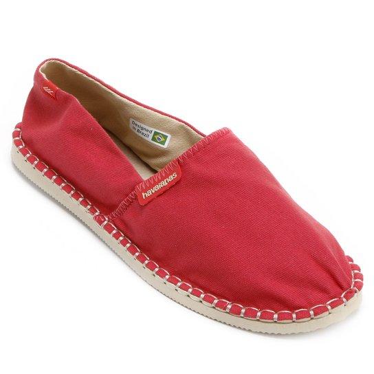 c712482ef8 Alpargata Havaianas Origine III - Vermelho - Compre Agora
