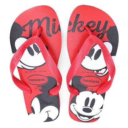 Sandália Havaianas Top Disney Mickey Mouse