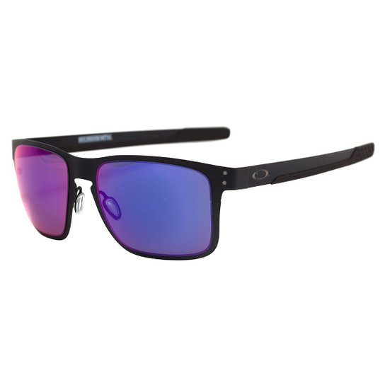 6a5e2aebe2c7b Óculos Oakley Holbrook - Vermelho - Compre Agora