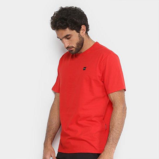Camiseta Oakley Manga Curta Masculina - Vermelho - Compre Agora ... b04a54e6b58e3