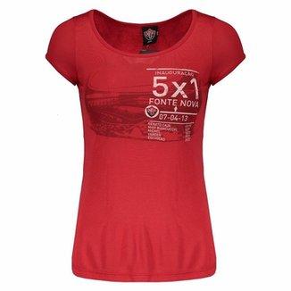 073158dab Camiseta Vitória Fonte Nova Feminina