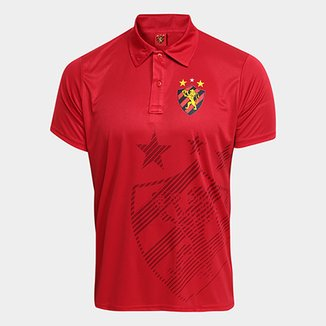 Camisa Polo Sport Recife Shadow Estampa Masculina