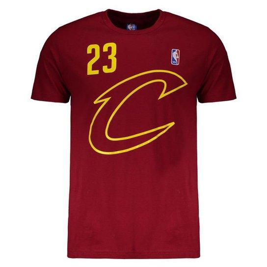 79925e35e Camiseta NBA Cleveland Cavaliers 23 Lebron James Masculina - Compre ...