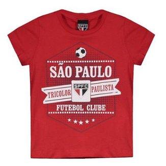 Camiseta São Paulo Joy Infantil 4ae453919db5d