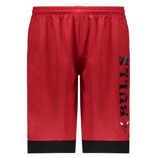 Calção NBA Chicago Bulls Game Vermelho - Vermelho - Compre Agora ... 8ba73b8aae4e3