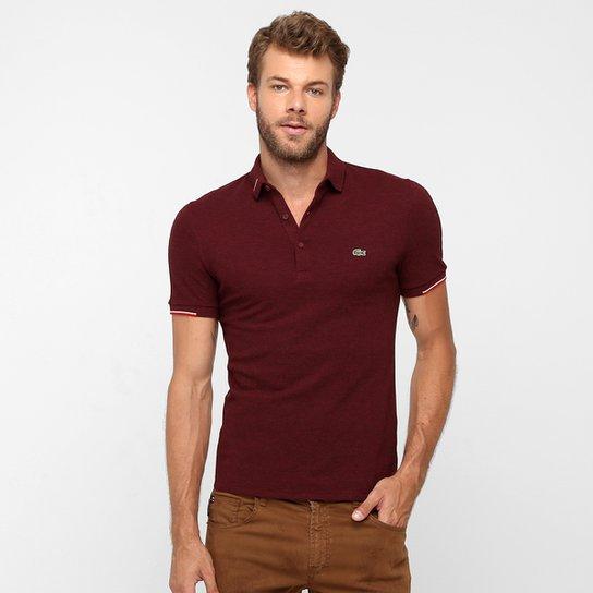Camisa Polo Lacoste Piquet Slim Fit - Compre Agora  87adcb178a09c
