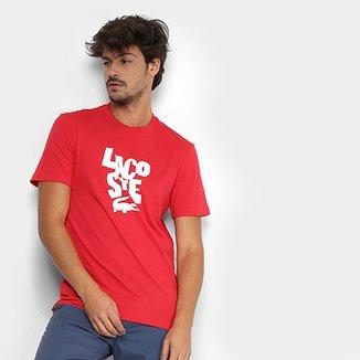 b49a12f20d3 Camisetas Lacoste Masculinas - Melhores Preços