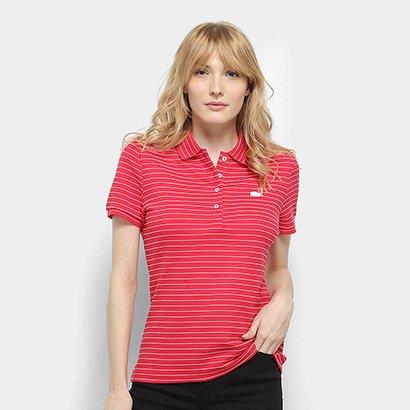 Camisa Polo Lacoste Polo Mc Feminina
