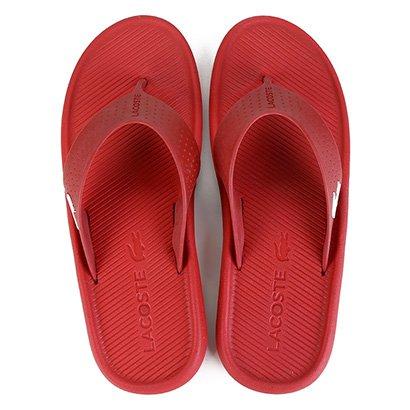 Chinelo Lacoste Croco Sandal Masculino