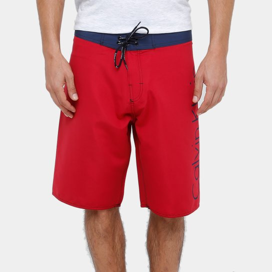 Bermuda D Água Calvin Klein CK Masculina - Compre Agora   Netshoes 5f809b7dd6