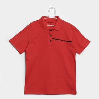 Compre Camiseta Calvin Klein Kids Online   Netshoes 3140afd185