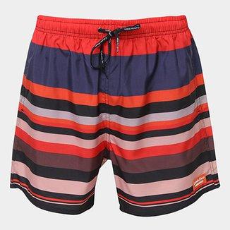 33dd5a4556 Bermuda de Surf Calvin Klein Listrada Masculina