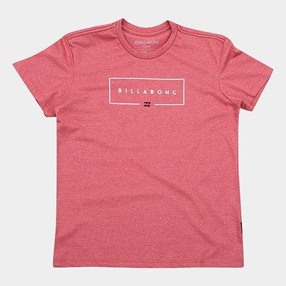 Camiseta Infantil Billabong Union Bk Masculina