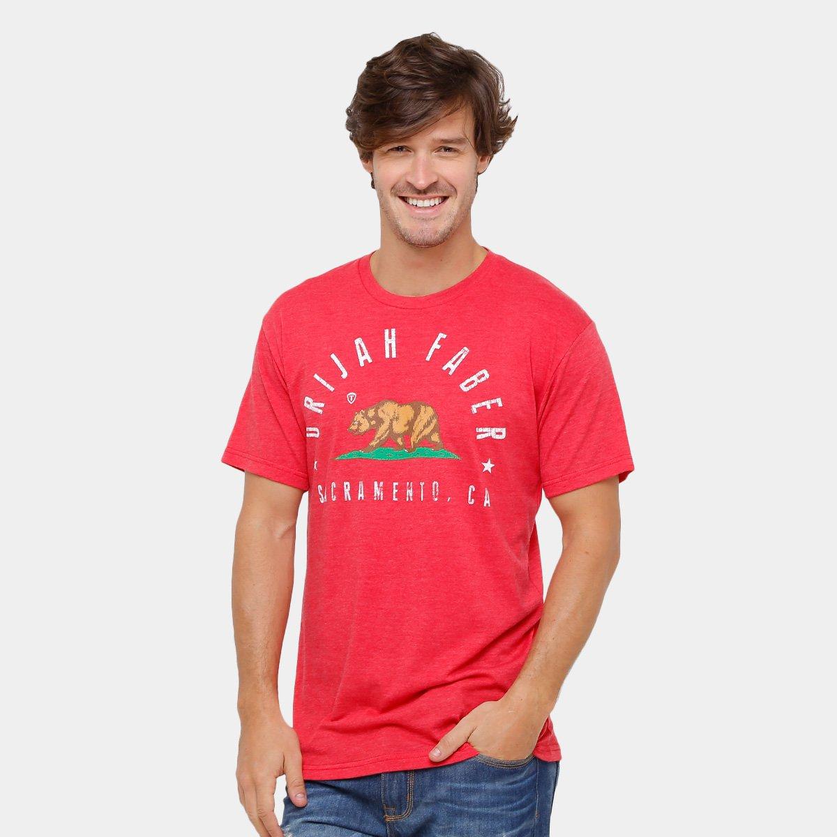 3901a678fd1d9 Camiseta UFC Urijah Faber Torque 203 Masculina
