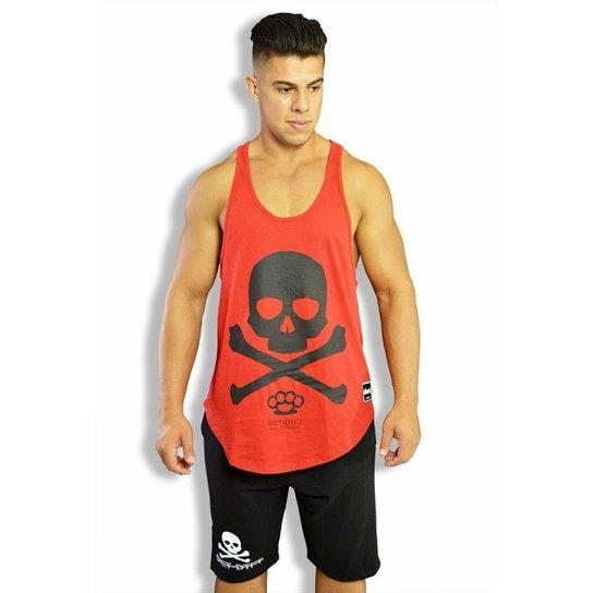 Regata Cavada Skull x masculina Ver - Vermelho - Compre Agora  edd72c25e0b