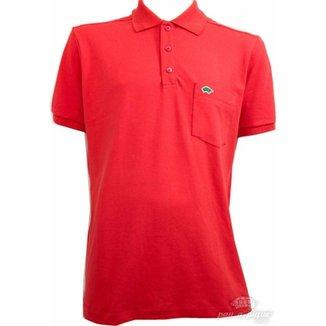 fd7afa8d96 Camisa Pau a Pique Polo com Punho