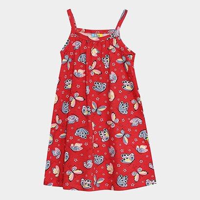 Vestido Infantil Up Baby Borboletas