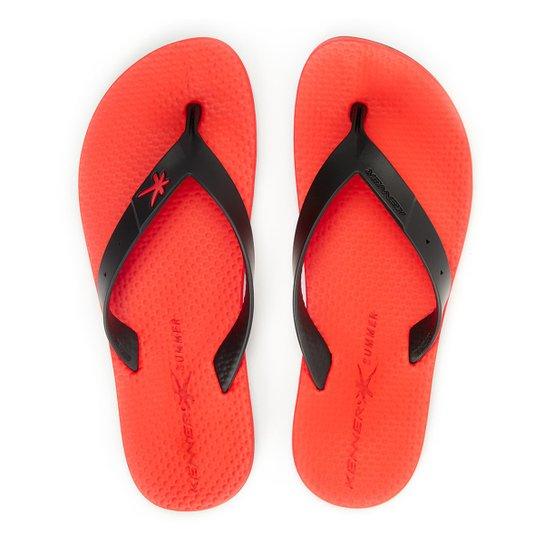 5947134e6 Chinelo Kenner Summer Black New - Vermelho | Netshoes
