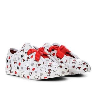 5fe821dd319 Tênis Infantil Disney Fita Minnie Feminino