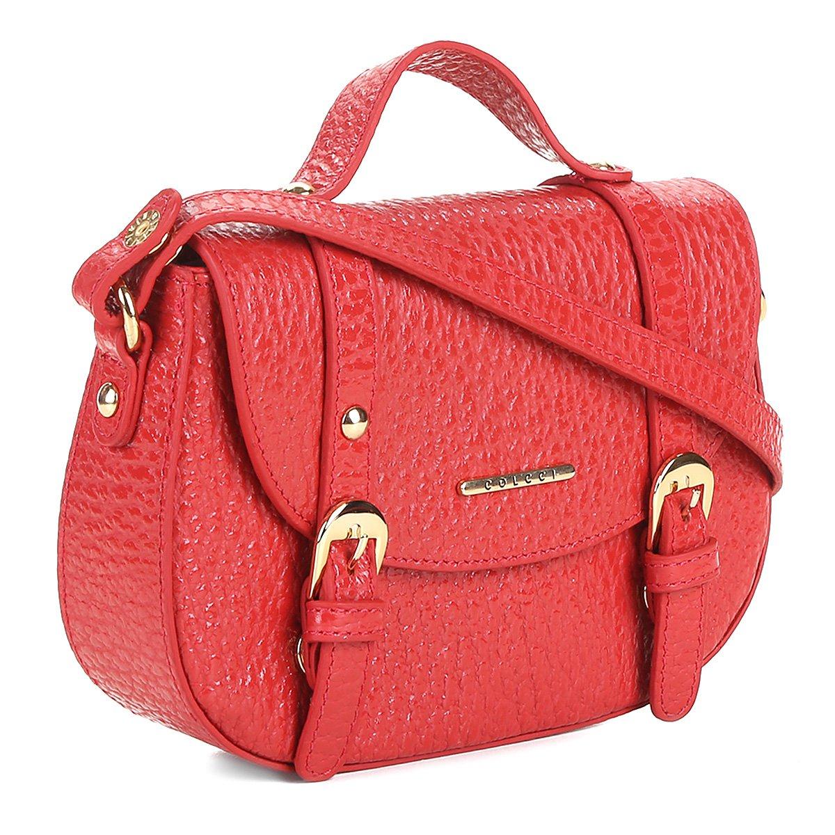 4cf087c6b Bolsa Couro Colcci Mini Bag Floater Fivelas Feminina   Livelo -Sua Vida com  Mais Recompensas