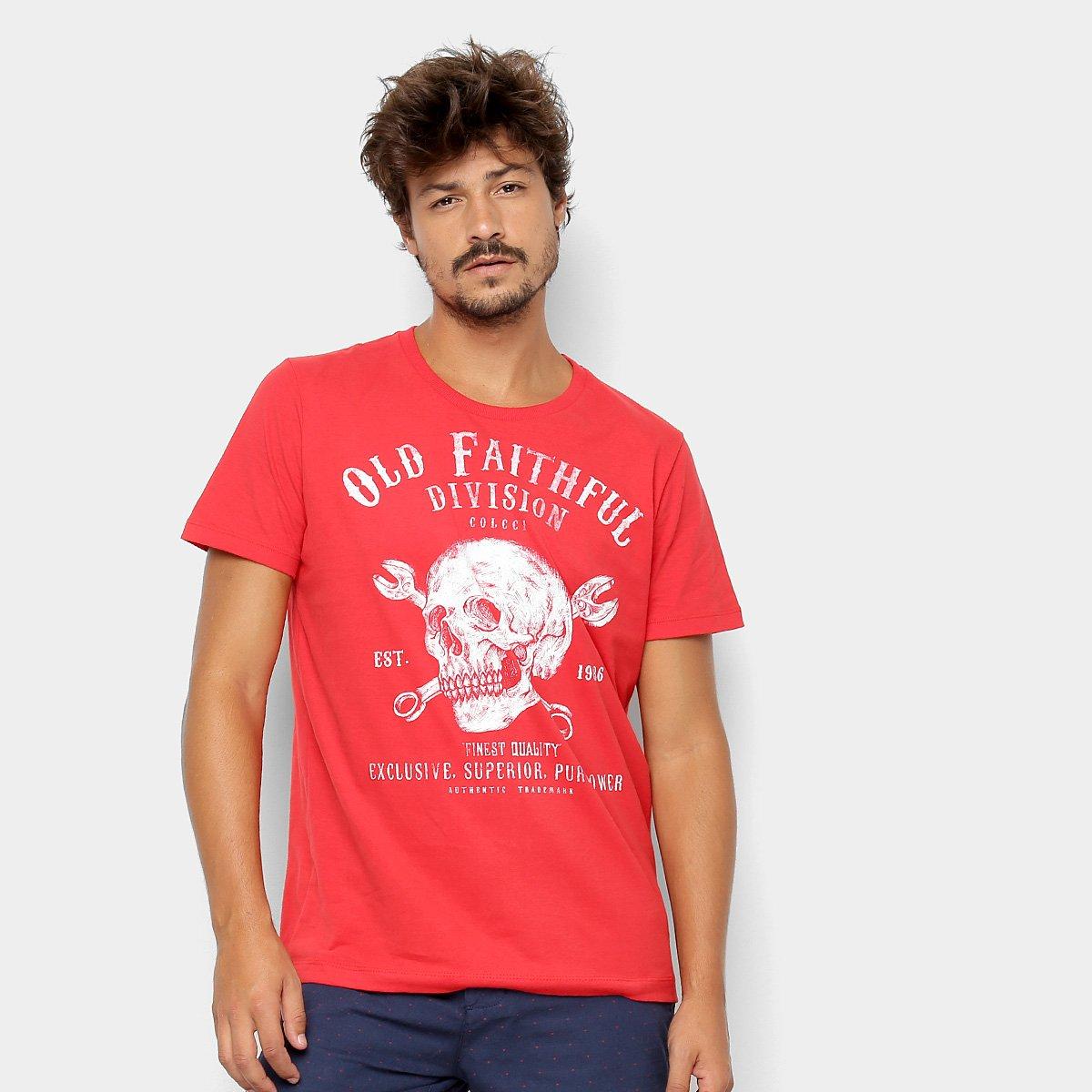 9b9d1109a Camiseta Colcci Caveira Masculina - Shopping TudoAzul