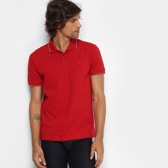 62e09c0a74 Camisa Polo Forum Piquet Frisos Masculina - Vermelho - Compre Agora ...
