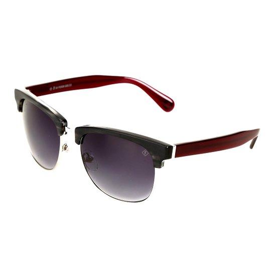 e766c81f54c19 Óculos de Sol Forum Degradê Feminino - Vermelho - Compre Agora ...