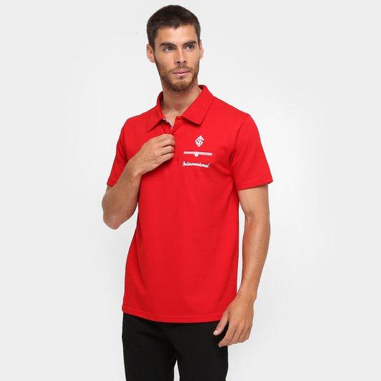 Camisa Polo Internacional Podium Masculina - Vermelho - Compre Agora ... bd829ad2c6a43