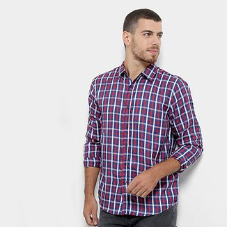 60e007232b0de8 Compre Camisa Xadrez Hollister Masculina Netshoes Online | Netshoes