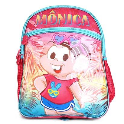 Mochila Infantil Escolar Pacific Turma da Mônica Verão Pop -973L04