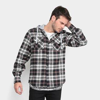 b4e5291b5f Compre Camisa Xadrez Hollister Masculina Netshoes Online