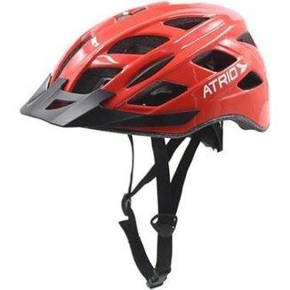 8451a1ffe Capacete de ciclismo c  Led sinalizador - Atrio Esportes