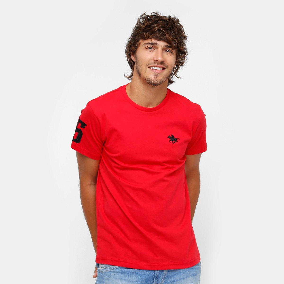 bdd9a5d5c Camiseta RG 518 Básica Bordada Masculina