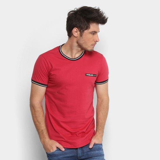 Camiseta Polo RG 518 Retilínea Masculina - Vermelho - Compre Agora ... 1d85ea989d36f