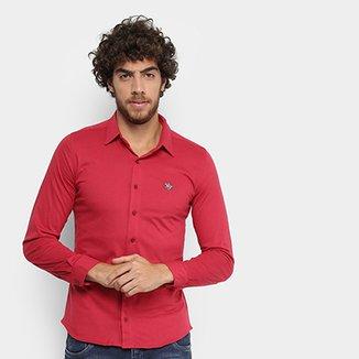 d51ff8640e Camisa Social Polo RG 518 Manga Longa Masculina
