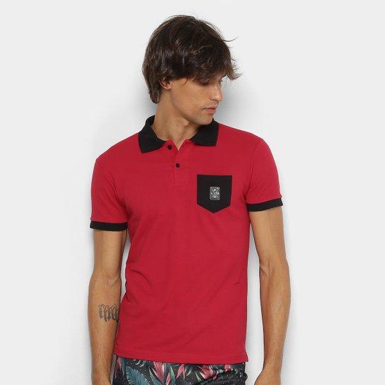 b54afcdd9b Camisa Polo RG 518 Piquet Bolso Masculina - Vermelho - Compre Agora ...