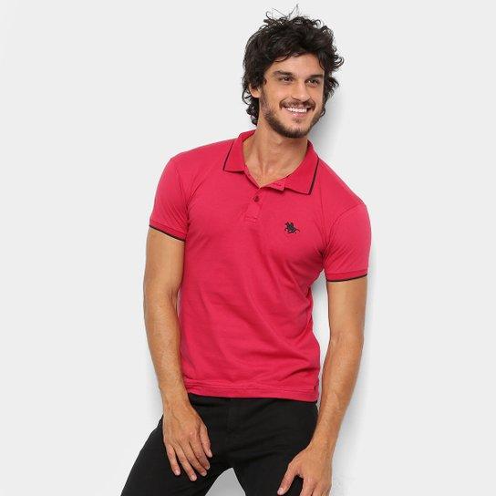 a730717869b5d Camisa Polo RG 518 Friso Logo Masculina - Vermelho - Compre Agora ...
