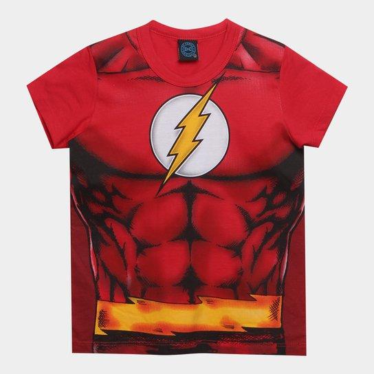 17e1822f8 Camiseta Infantil Kamylus Flash Cinto Masculina - Compre Agora ...