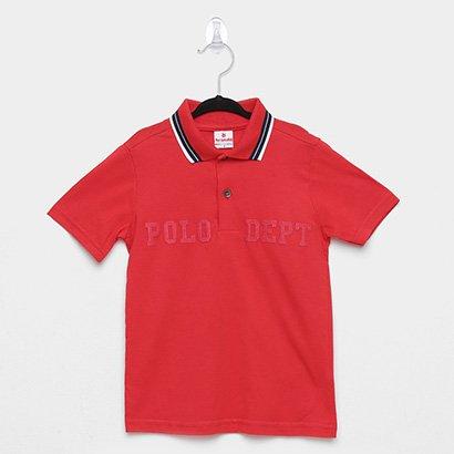 Camisa Polo Infantil Brandili Polo Dept Masculina