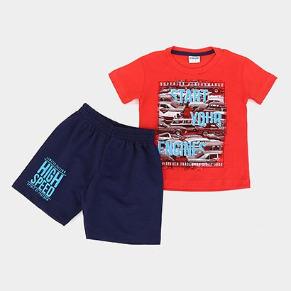 Conjunto Infantil Fakini High Speed Masculino